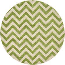 6 x 6 chevron round rug