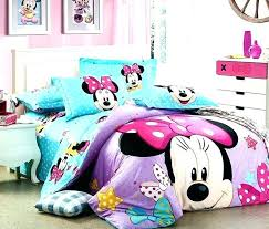 Minnie Mouse Full Sheets Mouse Comforter Mouse Full Size Bedding ...
