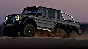 It is in its element off the beaten track. Mercedes Benz G 63 6x6 Announced By Traxxas Roger S Hobby Center