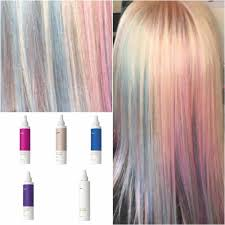 Milkshake Toner Chart Milkshake Permanent Hair Colour Chart Wella Light Auburn