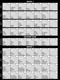 printable insanity workout calendar 17 best ideas about insanity workout calendar on