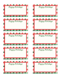 Gift Tag Template Free Free Printable Christmas Labels Template Christmas Printables