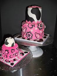 Cowgirl Cake Designs Pink Bandana Cowgirl Cake With Matching Smash Cake By