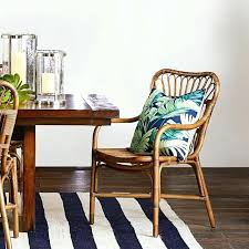 ratan dining table