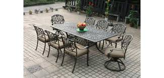 Wrought Iron Patio Furniture Cleaning Instruction