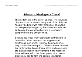 essay on contribution of science to mankind short essay on science and human happiness important
