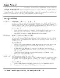 Bank Manager Resume Objective Banking Letsdeliver Co