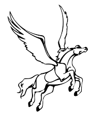 Free Printable Pegasus Coloring Pages For Kids In Wumingme