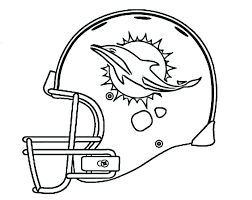 Denver Broncos Coloring Pages Broncos Helmet Coloring Page Free
