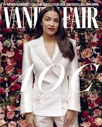 Чтобы поддержать грядущие выборы в стране, она решила… Vanity Fair S Fashion Director On That Aoc Cover Shoot