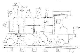 wooden train plans