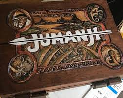 Wooden Jumanji Board Game Replica Zathura Key 55