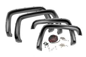 Rough Country Pocket Fender Flares w/Rivets for 2015-2017 ...