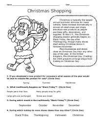 Christmas Theme Workbook Sample