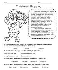 Christmas Theme Workbook Sample