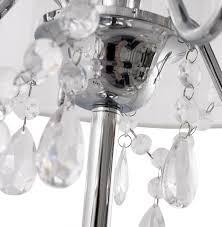 Tischlampe Venezianischer Kronleuchter Weiss