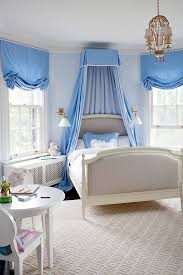 Lovely Girls' Room Bed Crown Canopy   KidSpace Interiors   Nauvoo IL
