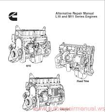 cummin l10 and m11 series engines repair manual auto repair cummin l10 and m11 series engines repair manual