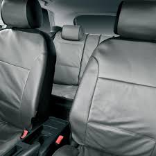 halfords advanced universal fit leather look car seat protector covers grey