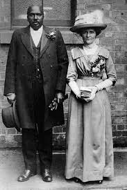 interracial marriage credo reference an interracial couple in england in the early 1900s the united states had laws against interracial marriage for much of its history some of which were