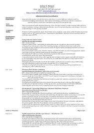 What Is A Functional Resume Awesome Administrative Functional Resume 60