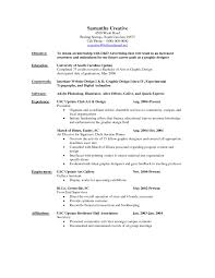41 Resume Objective Examples For Internships Compatible Emmabender