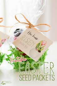 celebrate the easter season give the gift of life with these diy printable easter seed