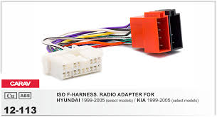 high quality hyundai radio wiring buy cheap hyundai radio wiring carav 12 113 iso f harness radio adapter for hyundai 1999 2005