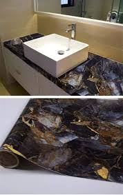 l and stick granite countertops yancorp dark blue with stone pattern granite look marble effect counter