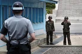 Image result for Soldier shot by North Korean guards while defecting to the South