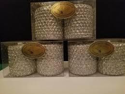 Oak Forest Design Candles 2x2 Metallic Glitter Votive Candle Pair Oak Forest Design