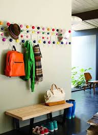 Eames Hang It All Coat Rack Modern Classics The Eames HangItAll Bench Mudroom and Hall 4