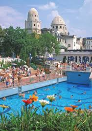 gellert spa baths outdoor thermal pools