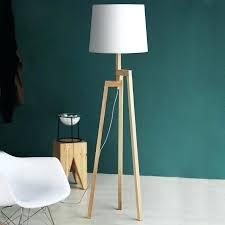 wooden tripod table lamp wood tripod floor lamp wooden tripod table lamp with grey shade