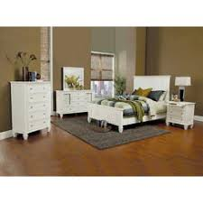 Sandy Beach White Queen Bedroom Set By Coaster Furniture