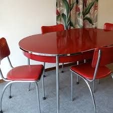 retro kitchen furniture. vintage red retro table and chairs reminds me of my grandmas kitchen luvu gram furniture 0