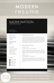 Gallery Of Resume Template Modern Cv Design 213485 Free Download