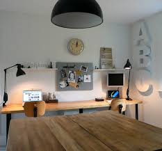 apartment home office. Vintage Cabin Tech Tour : Apartment Therapy Eclectic-home-office Home Office 0