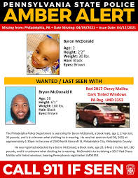 Check spelling or type a new query. Update Amber Alert Canceled For 2 Year Old From Pennsylvania Abc27
