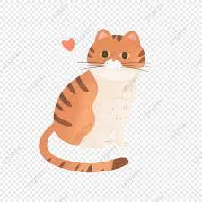 Hình ảnh Đôi Bàn Tay Vẽ Mèo Dễ Thương Có Tim, Động Vật, Hoạt Hình., Mèo  miễn phí tải tập tin PNG PSDComment và Vector