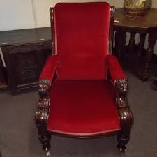victorian library chair