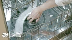 Ge Profile Dishwasher Filter Ge Monogram Dishwasher Zdt870spfss Features Youtube