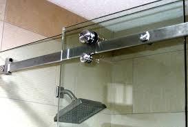 it s easy to clean the glass shower door plastic strip with regard semi shower door shower doors