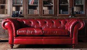 leather sofa chair. Classic Windsor Chesterfield In A Traditional Library Leather Sofa Chair