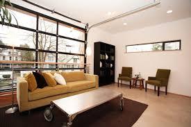 industrial living room modern living room gl doors