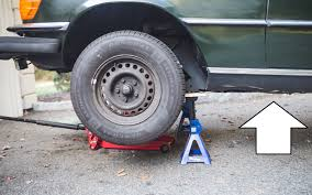There is only one solution to this problem.the carjack. How To Jack Up Your Car Digital Trends