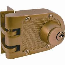prime line double cylinder painted br jimmy resistant entry door deadlock