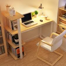 small desks for home office. Chao Soil Minimalist Modern Home Desktop Computer Desk Combination Bookcase Simple Small Office Desks For