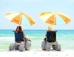 Beach Wheelchairs: More Available Than Ever - New Mobility