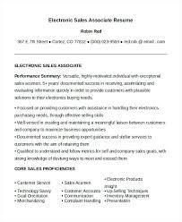 sales associate resume skills 4229